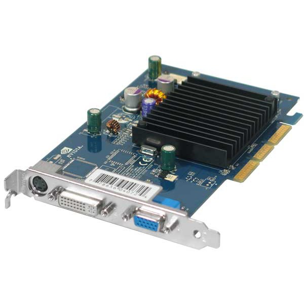 Carte graphique XFX GeForce 6200 - 256 Mo TV-Out/DVI - AGP (NVIDIA GeForce 6200) XFX GeForce 6200 - 256 Mo TV-Out/DVI - AGP (NVIDIA GeForce 6200)