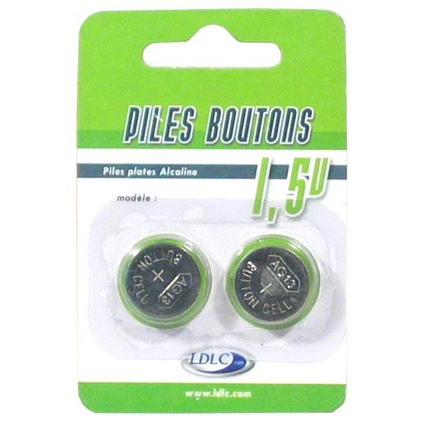 ldlc pile bouton lr54 lr1130 lr1131 v10ga pack de 2. Black Bedroom Furniture Sets. Home Design Ideas