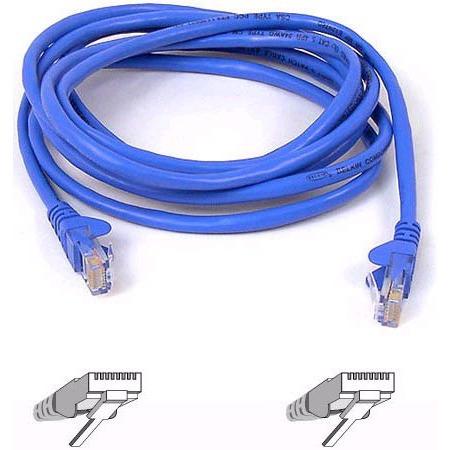 Câble RJ45 Belkin A3L791B10M-BLUS Câble RJ45 catégorie 5e UTP 10 m (Bleu)