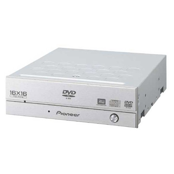 Lecteur graveur Pioneer DVR-109XL - DVD(+/-)RW 16/4/16/6x DL(+) 6x CD-RW 40/24/40x IDE Silver (bulk) Pioneer DVR-109XL - DVD(+/-)RW 16/4/16/6x DL(+) 6x CD-RW 40/24/40x IDE Silver (bulk)