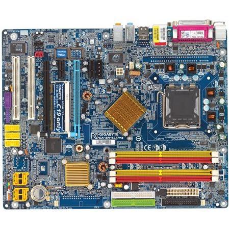 Carte mère Gigabyte GA-8N-SLI Pro (NVIDIA nForce4 SLI Intel Edition) - ATX Gigabyte GA-8N-SLI Pro (NVIDIA nForce4 SLI Intel Edition) - ATX