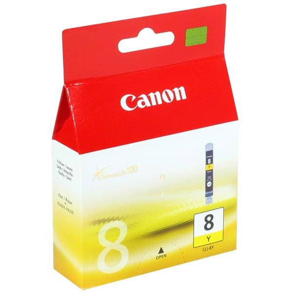 Cartouche imprimante Canon CLI-8Y Cartouche d'encre jaune