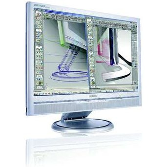 "Ecran PC Philips 200W6CS Philips 20"" LCD - 200W6CS - 16 ms - Format large 16/10"