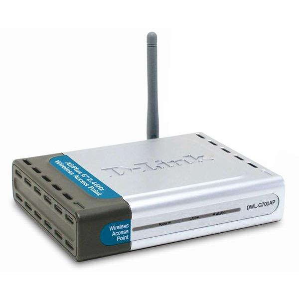Point d'accès WiFi D-Link DWL-G700AP D-Link DWL-G700AP - Point d'accès sans fil 54 Mbps Wi-Fi g