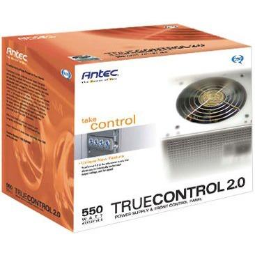 Alimentation PC Antec TrueControl II 550PEC - Alimentation 550W ATX 2.0 12V Antec TrueControl II 550PEC - Alimentation 550W ATX 2.0 12V