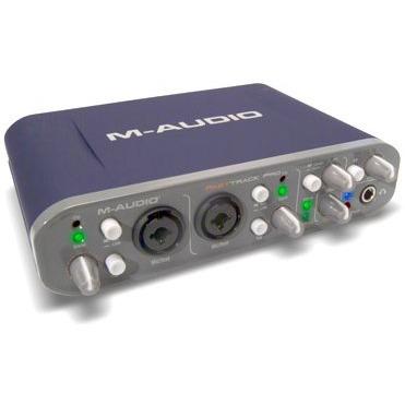 Interface Audio M-Audio Fast Track Pro M-Audio Fast Track Pro - Interface audio/MIDI USB mobile 4 x 4 avec préamplis