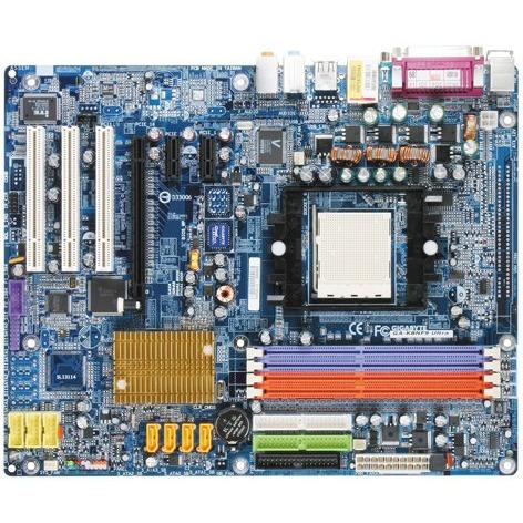Carte mère Gigabyte GA-K8NF-9 Ultra  Gigabyte GA-K8NF-9 Ultra (NVIDIA nForce4 Ultra) - ATX