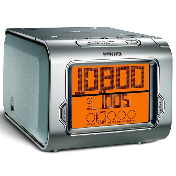 Radio & radio réveil Philips AJ3980 Philips AJ3980 - Radio réveil avec Lecteur CD