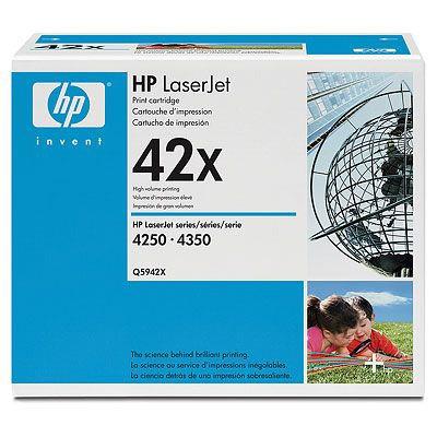 Toner imprimante HP Q5942X Toner Noir (20 000 pages à 5%)
