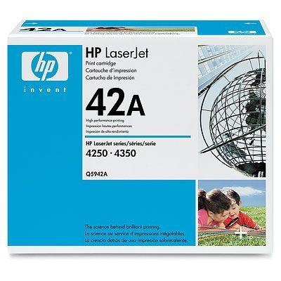 Toner imprimante HP Q5942A Toner Noir