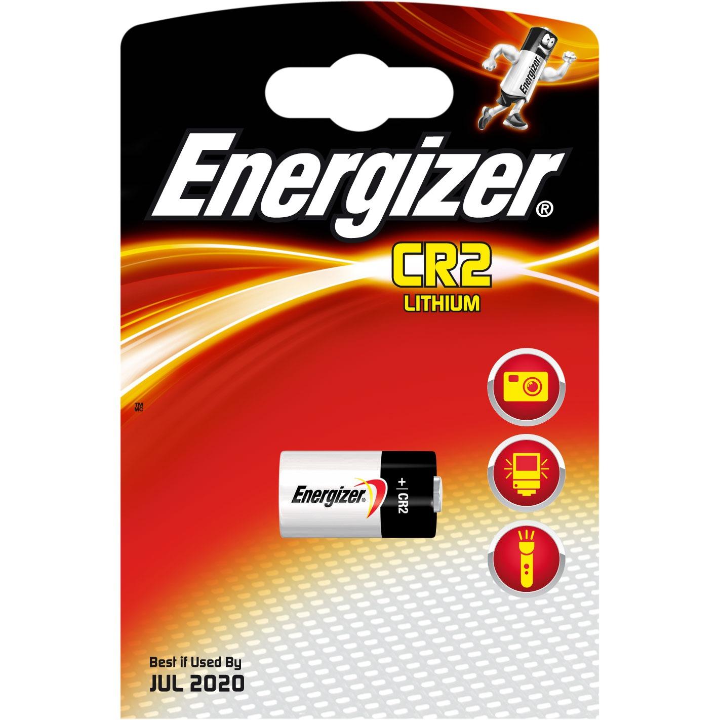 Pile & accu Energizer CR2 Lithium (à l'unité) Pile CR2 au lithium