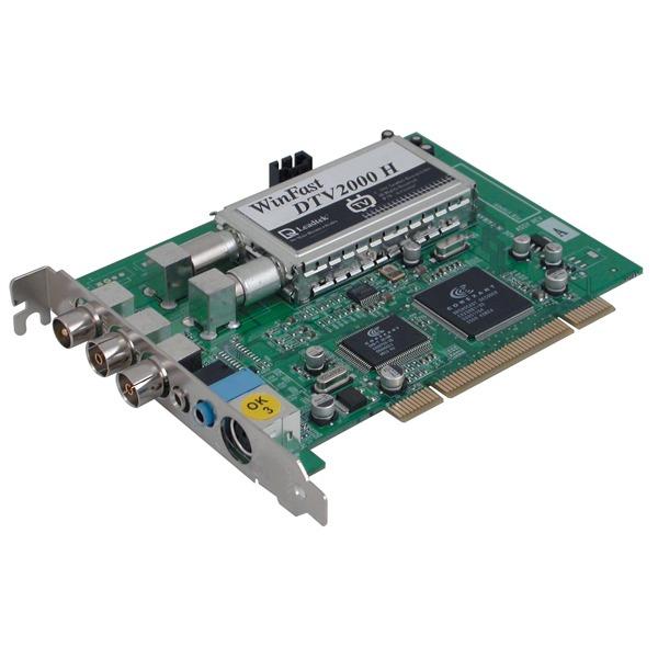 Carte TV LEADTEK TU-LE-DTV2000H TNT Leadtek WinFast DTV2000H - Carte PCI Tuner TV TNT/Analogique + Télécommande