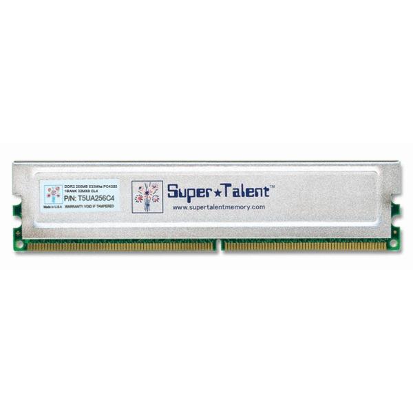Mémoire PC SuperTalent D32PB12C2  SuperTalent 512 Mo DDR-SDRAM PC3200 CL2 - D32PB12C2
