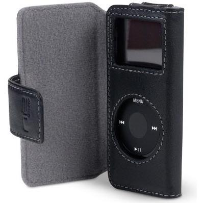 Belkin housse porte feuille en cuir pour apple ipod nano for Housse ipod nano