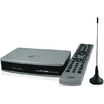 Tuner TNT USB ADS Tech Dual TV USB Analog/DVB-T ADS Tech Dual TV USB Analog/DVB-T - Boîtier externe USB Tuner TV Analogique et TNT