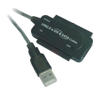 USB Adaptateur USB 2.0 Vers IDE + SATA Adaptateur USB 2.0 Vers IDE + SATA