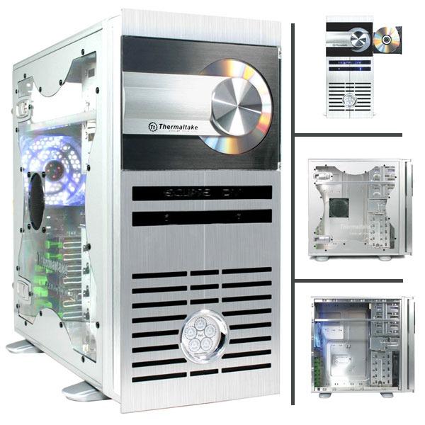 Boîtier PC Thermaltake VC6000SWA Thermaltake Eclipse DV - VC6000SWA - Argent avec fenêtre