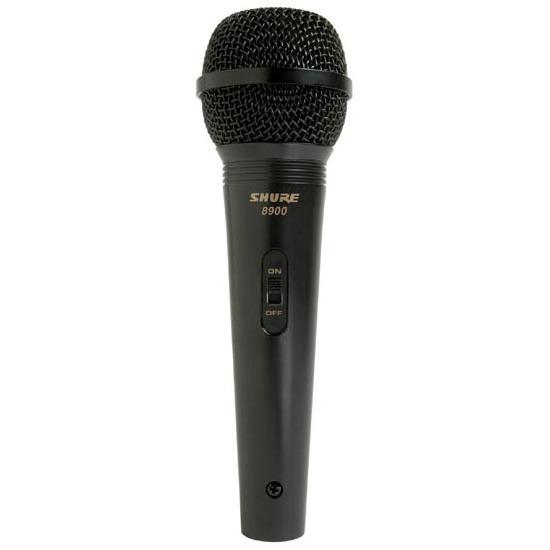 Microphone Shure 8900WD Shure 8900WD - Microphone cardioïde dynamique + accessoires