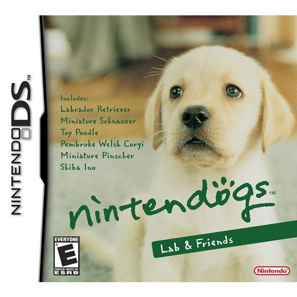 Jeux Nintendo DS Nintendogs : labrador et ses amis Nintendogs : labrador et ses amis (Nintendo DS)