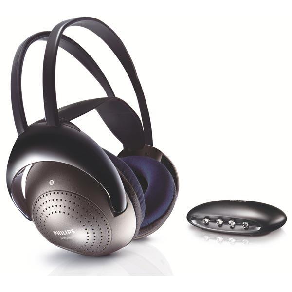 Casque Philips SHC2000 Casque circum-auriculaire fermé sans fil
