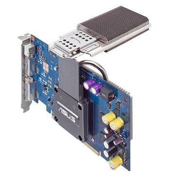 Carte graphique ASUS EN7600GT SILENT/2DHT/256M ASUS EN7600GT SILENT/2DHT - 256 Mo TV-Out/Dual DVI - PCI Express (NVIDIA GeForce 7600 GT) - (garantie 3 ans)