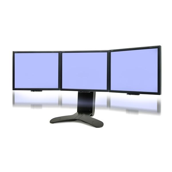 ergotron lx triple support de bureau pour 3 moniteurs. Black Bedroom Furniture Sets. Home Design Ideas