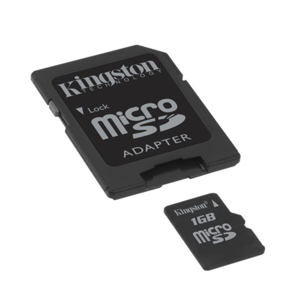 Carte mémoire Kingston SDC/1GB Kingston microSD 1 Go (garantie 10 ans par Kingston)