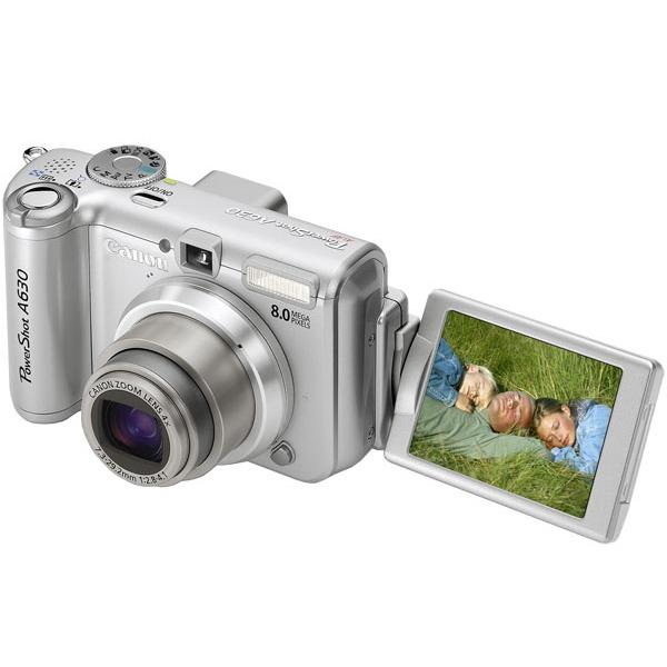 Appareil photo numérique Canon PowerShot A630 Canon PowerShot A630 (nu)
