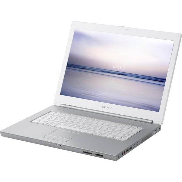 """PC portable Sony VAIO N11M/W-FR Sony VAIO N11M/W - Intel Core Duo T2050 512 Mo 80 Go 15.4"""" TFT DVD(+/-)RW DL Wi-Fi G WXPMCE"""
