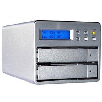 Disque dur externe LDLC disque dur externe 1 To (2 x 500 Go) - RAID 0/1 (USB 2.0/Serial ATA) LDLC disque dur externe 1 To (2 x 500 Go) - RAID 0/1 (USB 2.0/Serial ATA) - (délai supplémentaire 1-3j pour montage)