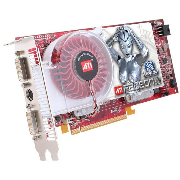 Carte graphique Sapphire Radeon X1950 XT 256 Mo PCI Express Sapphire Radeon X1950 XT - 256 Mo TV-Out/Dual DVI - PCI Express (ATI Radeon X1950 XT)