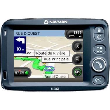 GPS Navman N40i Navman N40i (Cartographie européenne) + SD Card 1 Go
