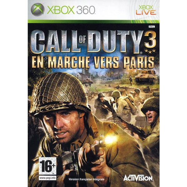 Jeux Xbox 360 Call of Duty 3 Call of Duty 3 (Xbox 360)