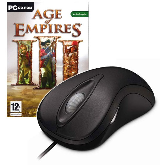 Jeux PC Microsoft Laser Mouse 6000 + Age of Empires III (PC) Microsoft Laser Mouse 6000 + Age of Empires III (PC)