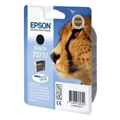 Cartouche imprimante Epson T0711 Epson T0711 - Cartouche d'encre noire