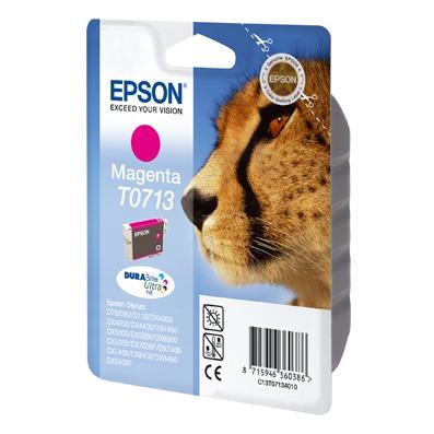 Cartouche imprimante Epson T0713 Epson T0713 - Cartouche d'encre magenta