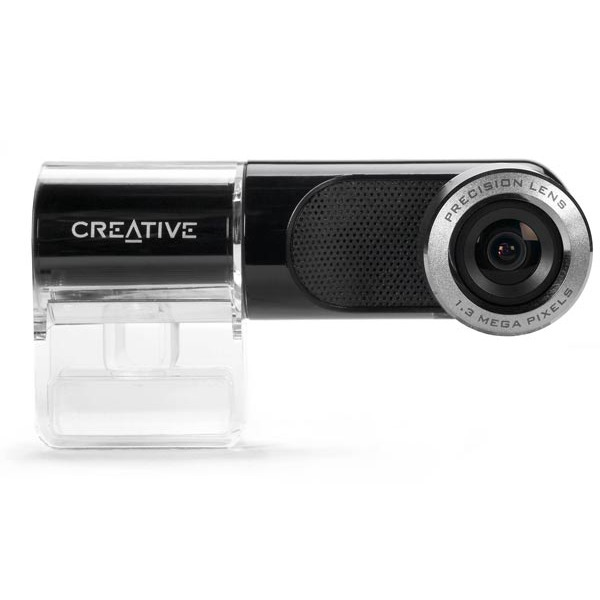 Webcam Creative Live! Cam Notebook Ultra Creative Live! Cam Notebook Ultra (USB 2.0) - Webcam pour ordinateur portable