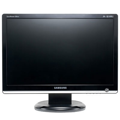 "Ecran PC Samsung SyncMaster 226BW Samsung 22"" LCD - SyncMaster 226BW - 2 ms (gris à gris) - Format large 16:10"