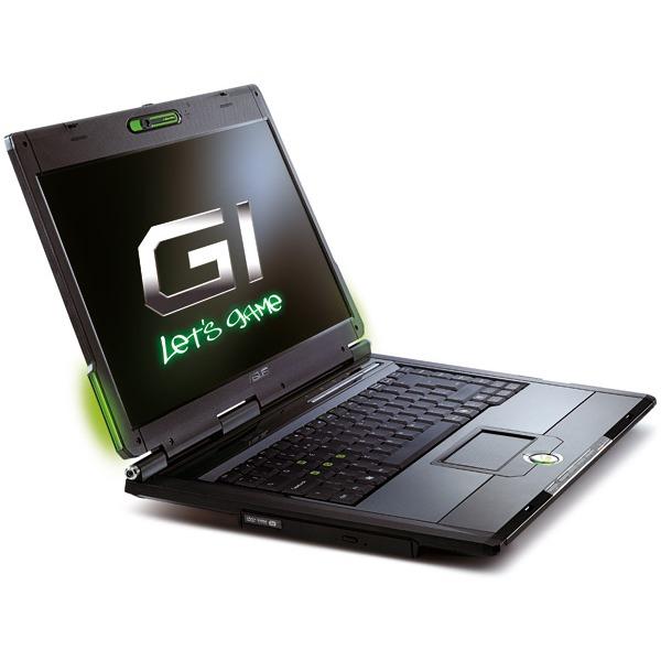 """PC portable ASUS G1-AK005C ASUS G1-AK005C - Intel Core 2 Duo T7200 2 Go 160 Go 15.4"""" TFT Graveur DVD Super Multi DL Wi-Fi G/Bluetooth Webcam WVFP"""
