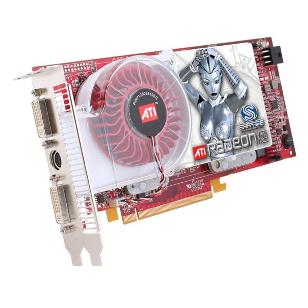 Carte graphique Sapphire Radeon X1950 XT 512 Mo Sapphire Radeon X1950 XT - 512 Mo TV-Out/Dual DVI - PCI Express (ATI Radeon X1950 XT)