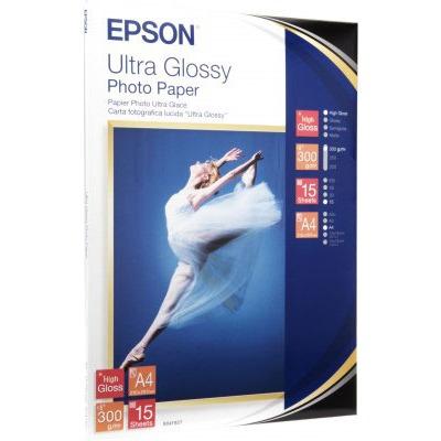 Papier imprimante Epson C13S041927 Epson C13S041927 - Papier glacé qualité photo A4 (15 feuilles)