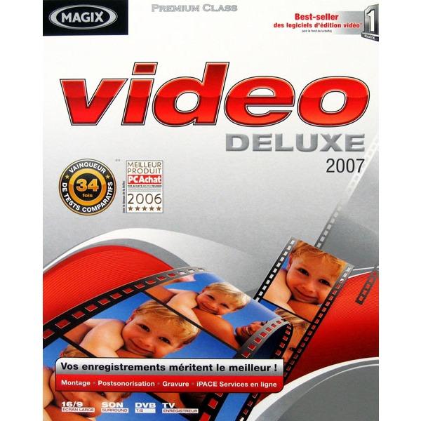 Logiciel composition vidéo MAGIX Video deluxe 2007 (WINDOWS) MAGIX Video deluxe 2007 (WINDOWS)