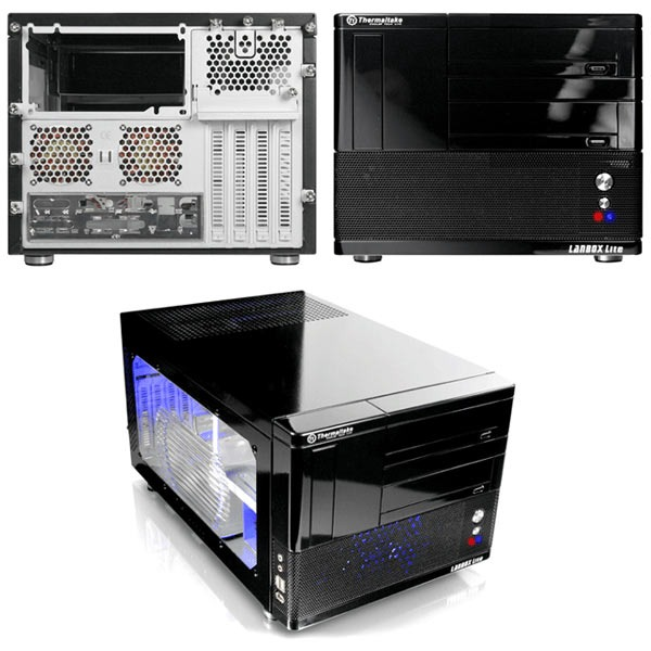 Boîtier PC Thermaltake LANBOX Lite VF6000BWS Thermaltake LANBOX Lite - VF6000BWS - Noir avec fenêtre