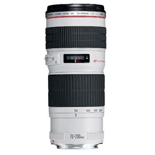 Objectif appareil photo Canon EF 70-200mm f/4L USM Télézoom expert
