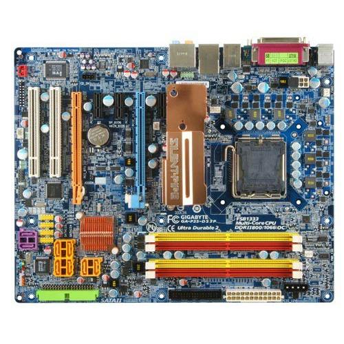 Carte mère Gigabyte GA-P35-DS3P Gigabyte GA-P35-DS3P (Intel P35 Express) - ATX
