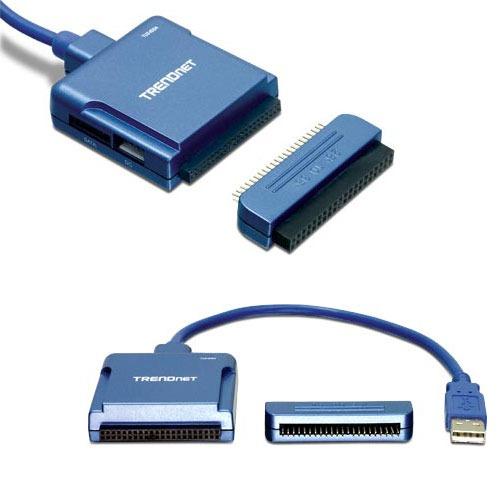 USB TRENDnet TU2-IDSA Adaptateur convertisseur USB 2.0 vers SATA / IDE