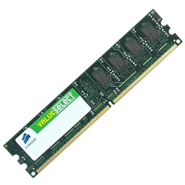 Mémoire PC Corsair Value Select 2 Go DDR2 667 MHz RAM DDR2 PC5300 - VS2GB667D2 (garantie 10 ans par Corsair)