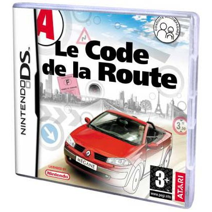 le code de la route jeux nintendo ds anuman interactive sur ldlc. Black Bedroom Furniture Sets. Home Design Ideas