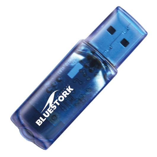 Connecteur bluetooth Bluestork BS-BT-USB_2 Bluestork BS-BT-USB_2 - Adaptateur Bluetooth 2.0 - Portée 10 mètres