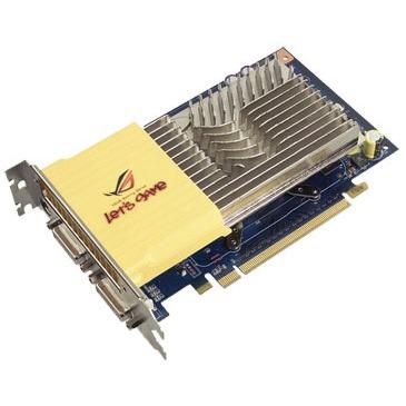 Carte graphique ASUS EN8600GT SILENT/HTDP/512M ASUS EN8600GT SILENT/HTDP/512M - 512 Mo TV-OUT/Dual DVI - PCI Express (NVIDIA GeForce 8600 GT) - (garantie 3 ans)